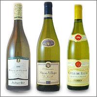 白ワイン  経験から絞り込まれたライナップ